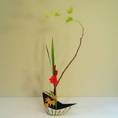 Fumiko's simplified #ikebana 2