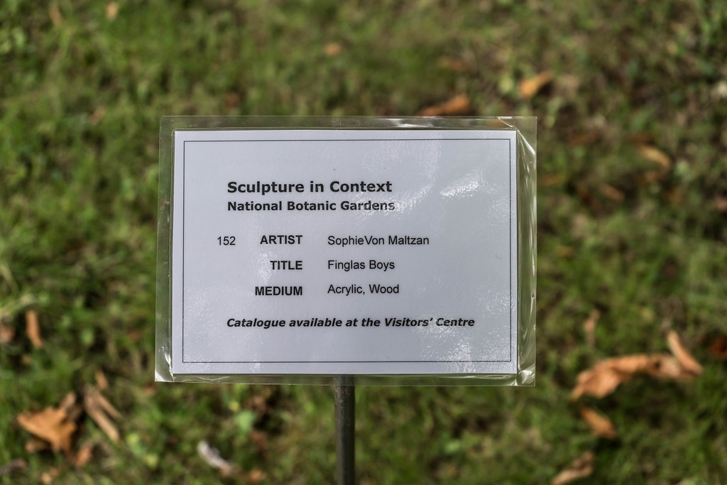 FINGLAS BOYS BY SOPHIE VON MALTZAN [SCULPTURE IN CONTEXT 2015] REF-107735