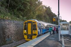 Borders Railway 6.9.15 (babs pix) Tags: train scotrail scottishborders bordersrailway galalshiels