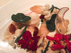 Food at The Bazaar by Jose Andres - Beverly Hills, CA (ChrisGoldNY) Tags: california food usa america la losangeles forsale meals foodporn albumcover plates bookcover dishes bookcovers californian albumcovers eater licensing iphone joseandres laist thebazaar chrisgoldny chrisgoldberg chrisgold chrisgoldphoto