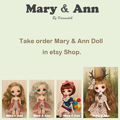 Mary&Ann in Etsy !! (Byeol kang) Tags: doll mary ann bjd maryann koreabjd kreamdoll