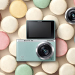 Digital Camera with an interchangeable Lensの写真