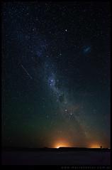 La Vía Láctea en Salina del Gualicho
