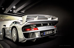 Porsche 911 GT1 (Museo Porsche, Zuffenhausen, Stuttgart, Alemania) (Nash FRosso) Tags: cars germany stuttgart 911 porsche alemania museo exclusive supercar luxe coches gt1 hypercar