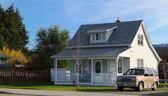 House with Dormer (tonywild241) Tags: autumn urban house canada britishcolumbia fallcolors mostviewed vernonbc okanaganbc