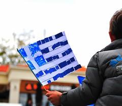 Greece is... (sifis) Tags: blue greek nikon flag greece sakalak d700
