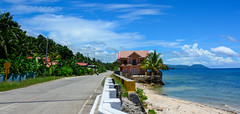 Palm House (free3yourmind) Tags: palm house bohol philippines clouds cloudy day sea seaside road travel beach