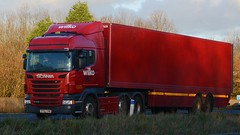 EF62 ENW (panmanstan) Tags: truck wagon motorway yorkshire transport lorry commercial newport vehicle freight scania m62 haulage hgv r440