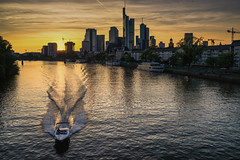 Frankfurt sunset skyline (TM Photography Vision) Tags: sunset frankfurt ffm sony 850