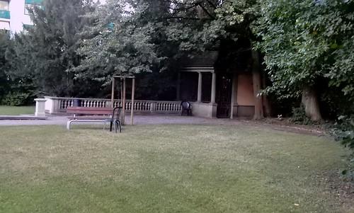 Im Garten der VIlla Bernau