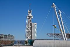 Lisbon - Vasco da Gama tower (JOAO DE BARROS) Tags: barros joo lisboa lisbon portugal architecture