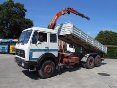 MB NG 1932 (Vehicle Tim) Tags: mercedes mb ng lkw truck fahrzeug kipper tipper crane kran