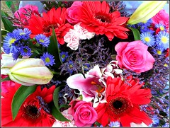 Beautiful Bouquet .. (** Janets Photos **) Tags: uk hull citycentres florists bouquets flowers colours