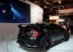 Honda Civic Type R Concept 2016 (Joseph Trojani) Tags: honda civic concept typer hondacivictyper conceptcar nikon d7000 salondelautomobileparis2016 auto motor show paris motorshow