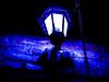 Underworld light // Luz del inframundo (Nico Fernández Palma) Tags: dark night blue violet noche oscura oscuridad darkness effect 35mm violeta negro luz miedo fear light fantasy fantasia inframundo underworld