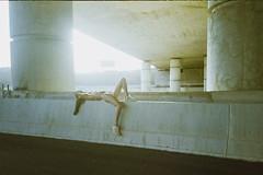 Route 531  Ruth (MY ANALOG DIARY // by Shay Segev) Tags: 35mm lomo under bridge ruth calahorra shay segev shaysegev