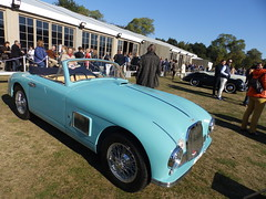 Aston Martin DB2 Cabriolet (1) (zerex59) Tags: aston martin db2 cabriolet prince bertil sweden sude 24 heures mans 1951