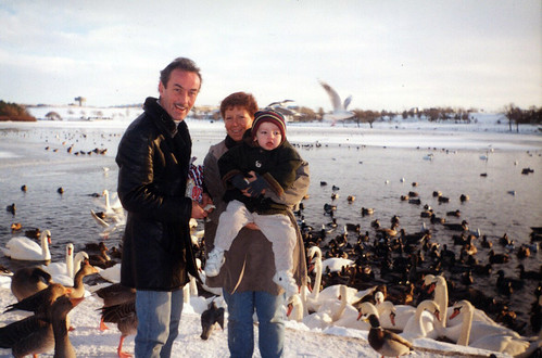 Jim and May Ward and family 1995