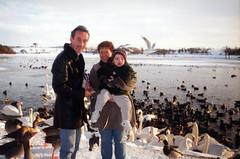 Jim and May Ward and family 1995