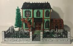 Haunted House (dzambito42) Tags: lego halloween ghost haunted house brick bricks victorian scary haunt