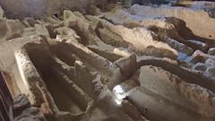 DSCF0046 glise monolithe d'Aubeterre-sur-Dronne (Charente) (Thomas The Baguette) Tags: aubeterresurdronne charente france monolith cave church tympanum glise glisenotredame saintjacques caminodesantiago sexyguy chateau cloister minimes mithra mithras cult