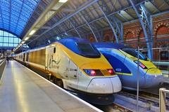 Eurostar 3201 (373201) - London St Pancras (South West Transport News) Tags: eurostar 3201 373201 london st pancras