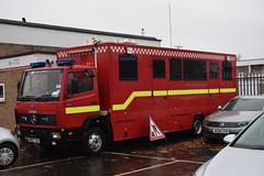 R615 TAV (markkirk85) Tags: r615 tav fire engine appliance r615tav mercedes benz 817 command unit cambridgeshire rescue service