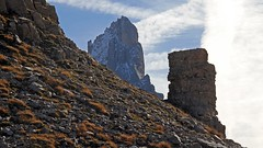 David and Goliath (ab.130722jvkz) Tags: italy trentino alps easternalps dolomites palagroup mountains