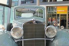 Mercedes Type Nürnberg 500 (1933) (Mc Steff) Tags: mercedes type nürnberg 500 1933 typ kaiser wilhelm ii kaiserwilhelmii retroclassicsmessestuttgart2016 louwman museum louwmanmuseum