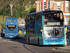 Chatham, 25.11.16 (Tony's Trains and Buses) Tags: arriva chatham enviro sapphire