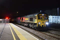 66556 4E01 felixstowe to tees dock at peterborough (I.Wright Photography over 2 million views thanks) Tags: 66556 4e01 felixstowe tees dock peterborough