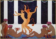 Danse BARBIER Georges (France, 1882-1932) (Maison de l'Alchimiste) Tags: georgesbarbier diabolique démon danse