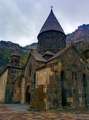 Geghard Monastery from 13th century, Armenia (Marianna Gabrielyan) Tags: armenia geghard monastery chrustian church mountain cave monument religion