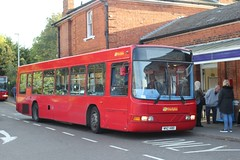 Trustybus /   Logic Transport / Galleon Travel 2009 Ltd . Roydon , Essex . WNZ1480 ( ex W491SCU ) . Epping LUL Station , Essex . Friday 28th-October-2016 . (AndrewHA's) Tags: epping station essex bus trustybus logic transport galleon travel roydon volvo b10ble wright renown wnz1480 w491scu route 420 harlow goahead northern 4910