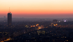 Mood Morning Paris (Julianoz Photographies) Tags: pollutionparis paris france europe capitale 75 julianozphotographies architecture arcdetriomphe cityscape mood morning htelconcordelafayette granderoue sunrise villelumire architecte capital city ville