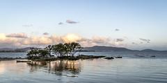 Golden Hour (jameshbecker) Tags: verde mar barco sol pordosol golden hour nuvens paisagens arvores blue santa catarina sao jose beira