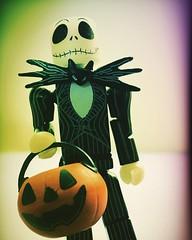 i am the pumpkin king (Luckykatt) Tags: jackskellington minimates luckykatt nightmarebeforechristmas halloween instagram