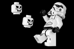 halloween on the death star  [Explored Oct 31, 2016 Dropped] (GOLDFOCUS) Tags: spookyandfrightful spooky frightful monochrome mono monday macromondays makro lego starwars stormtrooper star stormtroopers starwarstrooper goldfocus germany great giant golddragon geringeschärfentiefe black blackandwhite bw nophotoshop noiretblanc schwarzweiss schwarzweis schwarz schatten shadow happy happyshooting hsbilderflut reflections reflektion reflection pancake canon40mmf28pancakelens ef40mm 400d eos400d canon cool ef fantastic f28 digital detail deutschland dark dunkel dof bokeh thebeautyofbokeh