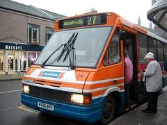 Strathtay - 218 - R506WRV - Traction-Group20050353 (Rapidsnap (Gary Mitchelhill)) Tags: strathtay strathtaybuses forfar buses greyday gloomy scotchmist optare metrorider optaremetrorider