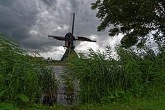 Moulin de Kinderdijk - Pays Bas (Vaxjo) Tags: kinderdijk moulin windmill paysbas netherland niederland