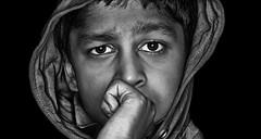 To begin with (Ram Iyer Photography) Tags: speedlite speedlight godox boy kids children nikon fullframe 28140mm studio lighting strobe strobist ramiyer world popular tak sharp fineart photojournalism blackwhite blackandwhite