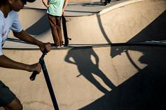 Paranoid Park-DSC_9952 (thomschphotography3) Tags: barcelona spain skaters skating skatingpark streetphotography shadows light sports sport children boys teenagers
