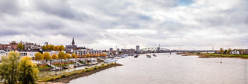 Nijmegen - cityscape from the Waalbridge