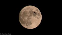 CRT_1332 (chris_tarshus) Tags: supermoon fullmoon moon plane d7100 sigmadc18250mm13563macrohsm ithaca