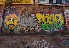 CATS PEO (TheGraffitiHunters) Tags: graffiti graff spray paint street art colorful wall cement new jersey cats peo