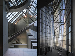 mm_European Central Bank design by  Coop Himmelb(l)au_14 (milimetdesign) Tags: coophimmelblau ecb europeancentralbank frankfurt germany banking deconstructivistarchitecture euro finance modernarchitecture