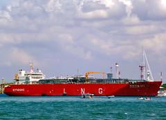 Hai Yang Shi You 301 (BxHxTxCx (using album)) Tags: kapal kapallaut ship tankership kapaltanker kapaltankerlng lngtanker