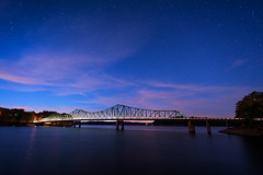 Stars over Browns Bridge [EXPLORED] (Travis Rhoads) Tags: 2016 canonef1740f4l metaboneseftoeivt sonyilce7rm2a7rii gitzogt2830basaltseries2 reallyrightstuff rrspcl01 landscapephotography longexposure nikcollectionbygoogle brownsbridge lakelanier georgia travisrhoadsphotography copyright2016 nightphotography stars astrophotography