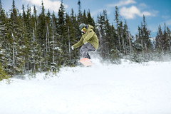 Snowboarder (Newfoundland and Labrador Tourism) Tags: western winter snow snowboard board snowboarding boarding snowboarder boarder air jump marble mountain hill