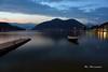 Porto Ceresio by night - Italy (MBorsatto61) Tags: portoceresio porto ceresio canoneos night crepuscolo landscape paesaggio lago lugano 600d 1855 longexposition longexposure